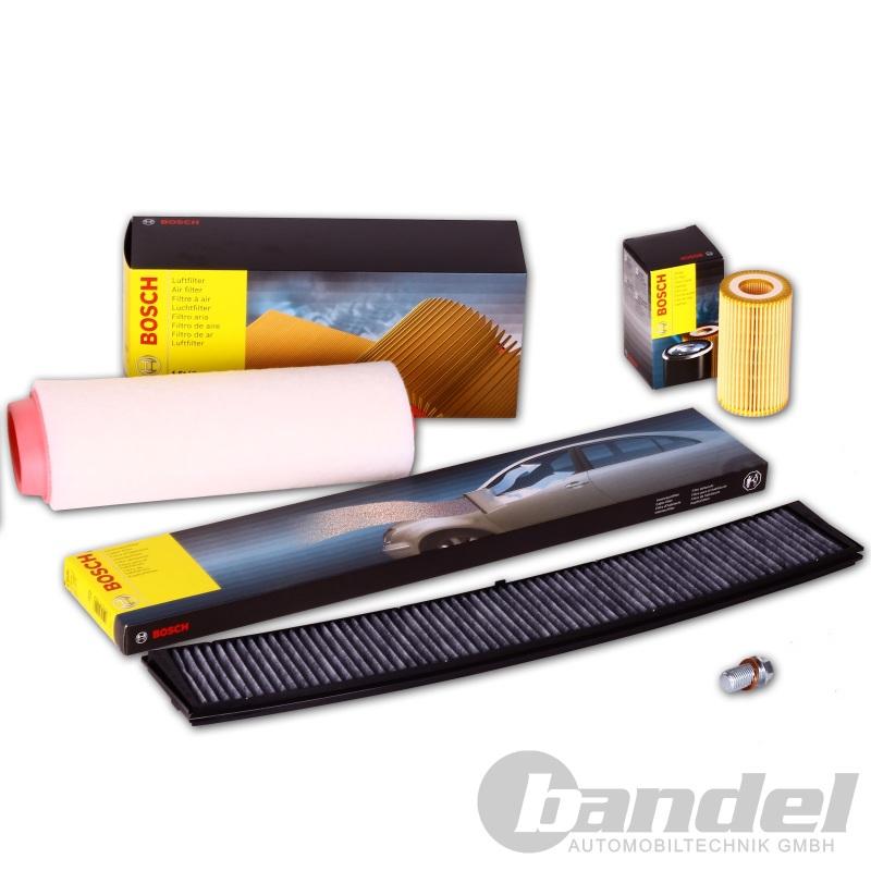 bosch filter set bmw e46 320d luftfilter lfilter. Black Bedroom Furniture Sets. Home Design Ideas