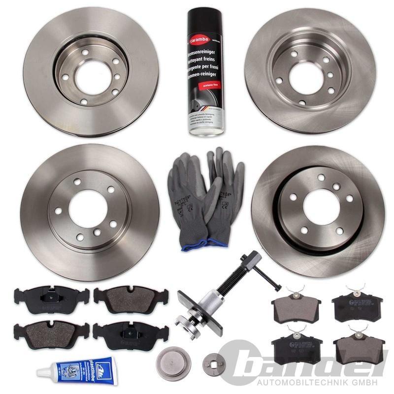 Bremsscheiben Bremsbeläge vorne hinten für Nissan Almera II Hatchback N16