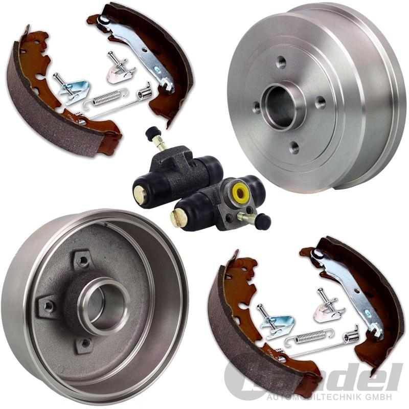 Bremsbacken Bremsbackensatz Hinten Radbremszylinder /& Zubehör Nissan Renault