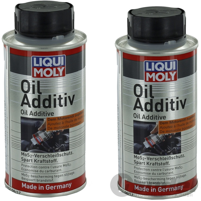 2x liqui moly l additiv 125ml l zusatz mos2 verschleiss. Black Bedroom Furniture Sets. Home Design Ideas