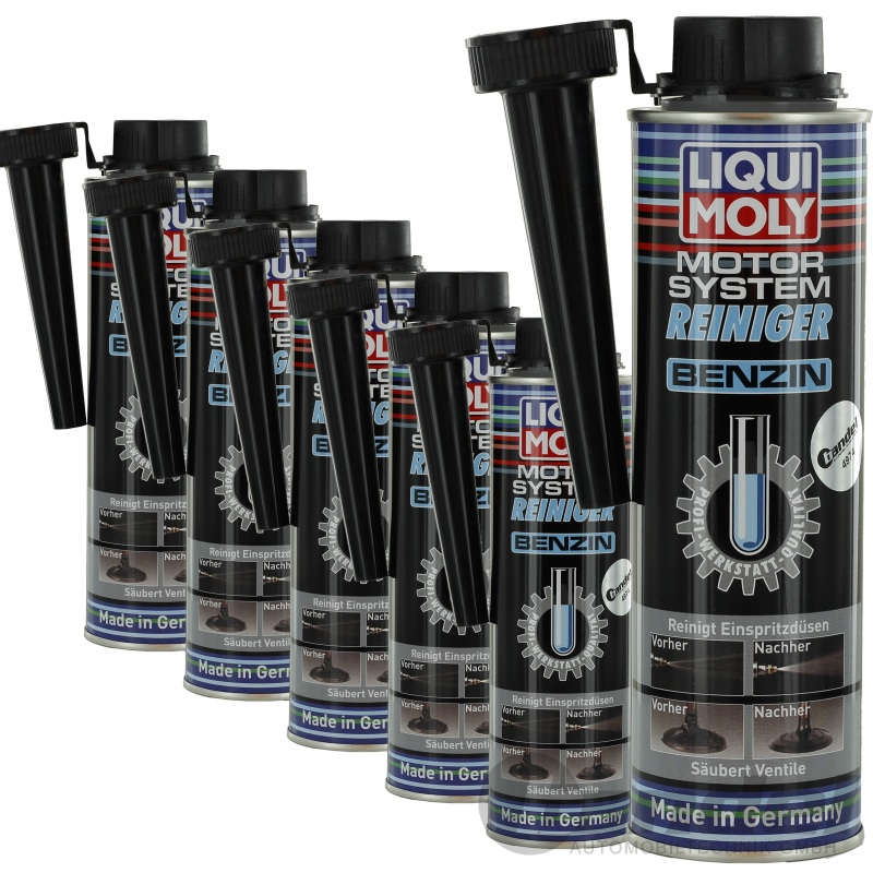 6x 300ml liqui moly motor system reiniger benzin 300ml 5129. Black Bedroom Furniture Sets. Home Design Ideas