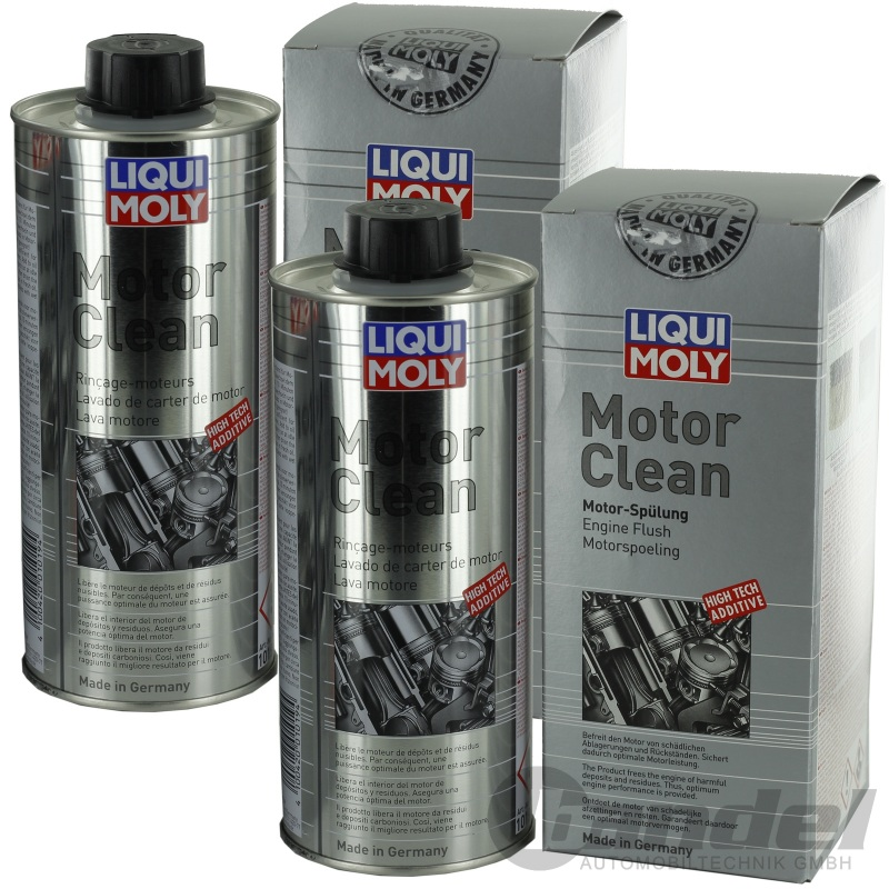 2x 500ml liqui moly motor clean motorsp lung motorreiniger. Black Bedroom Furniture Sets. Home Design Ideas