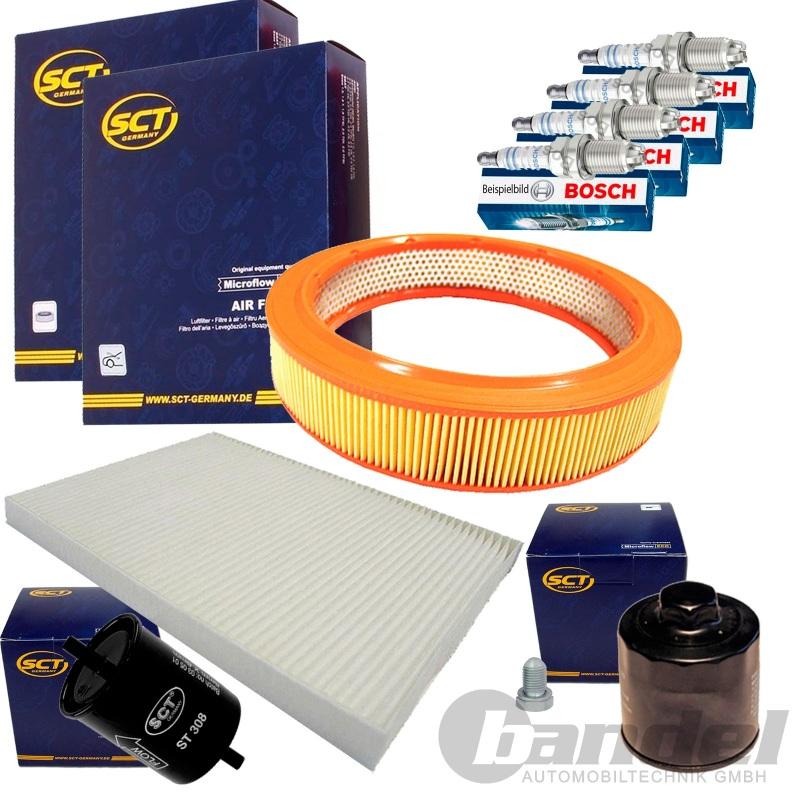 inspektions paket l pollen kraftstoff luft filter vw polo. Black Bedroom Furniture Sets. Home Design Ideas