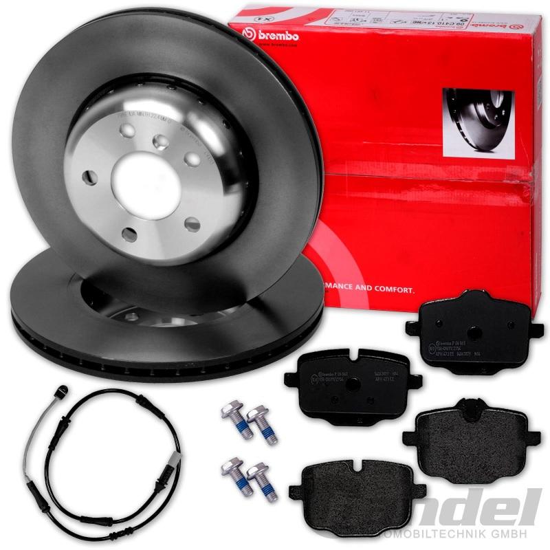 Brembo2 Bremsscheiben Bremsbelagsatz Vorne u.a für VW Bremsen-Set