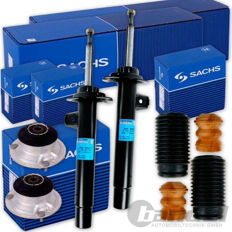 2 Premium Gasdruck serien Stoßdämpfer für die Vorderachse für BMW 3er E46