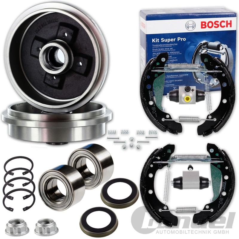 BoschBremsbackensatz KIT SUPERPRO Ø 220 mm vormontiert mit Zubehör Hinten