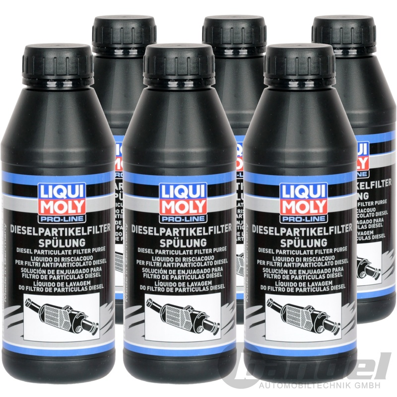 6x 500ml liqui moly pro line dpf dieselpartikelfilter sp lung. Black Bedroom Furniture Sets. Home Design Ideas