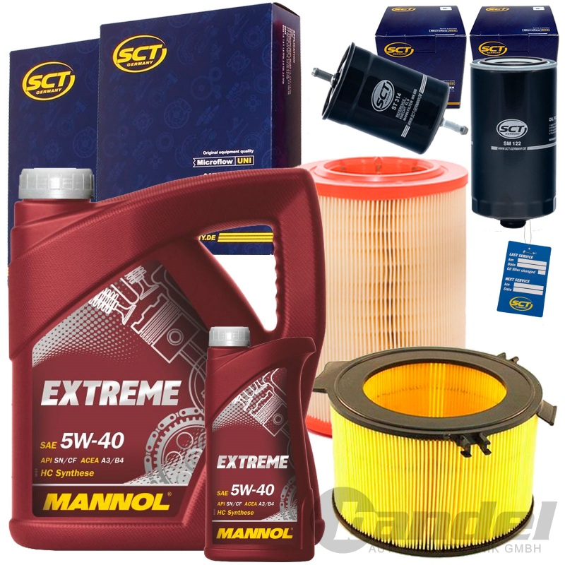 Inspektionskit// Filterset 1 Kraftstofffilter 1 Luftfilter 1 Filter Innenraumluft 1 Oelfilter