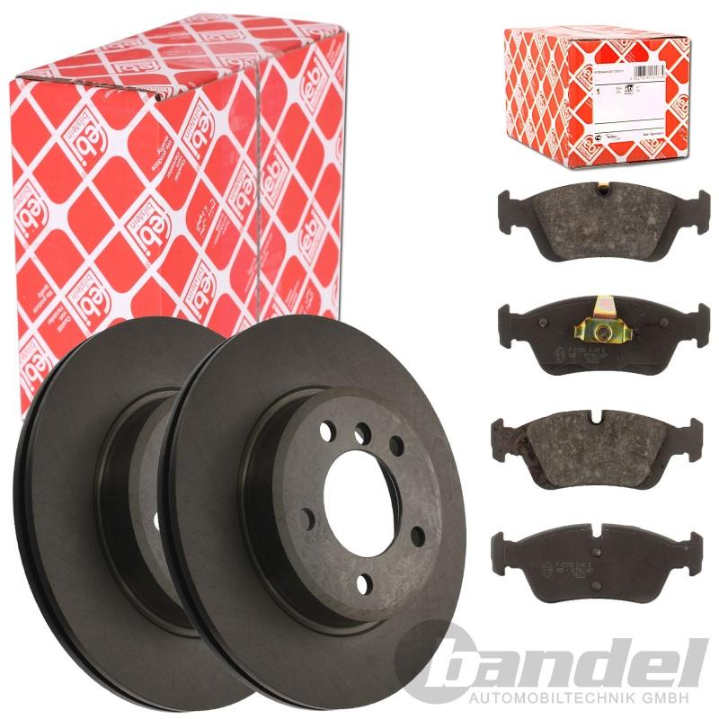febi bremsscheiben bel ge vorne bmw 3 e46 touring e46. Black Bedroom Furniture Sets. Home Design Ideas