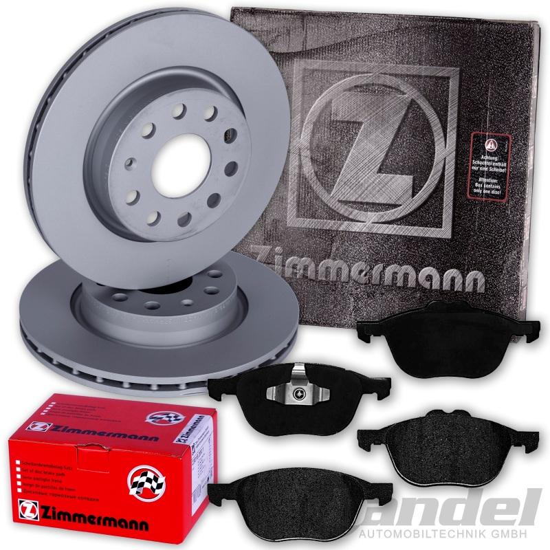 zimmermann bremsscheiben 300mm bel ge vorne ford focus 2. Black Bedroom Furniture Sets. Home Design Ideas
