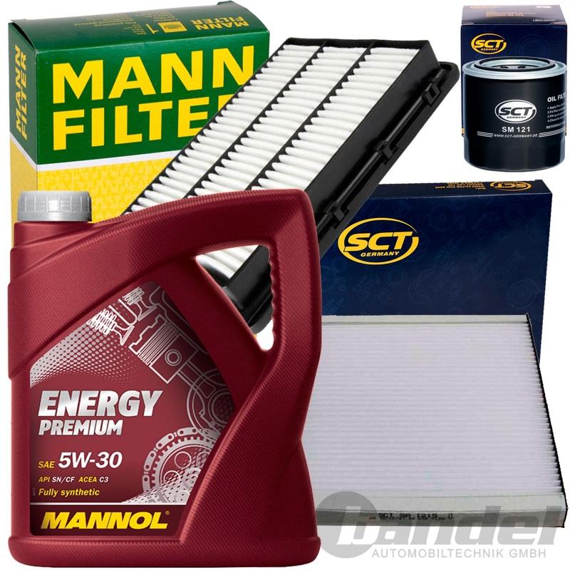 filter set kit mannol 5w30 l 1 6 tgdi 177 ps hyundai. Black Bedroom Furniture Sets. Home Design Ideas
