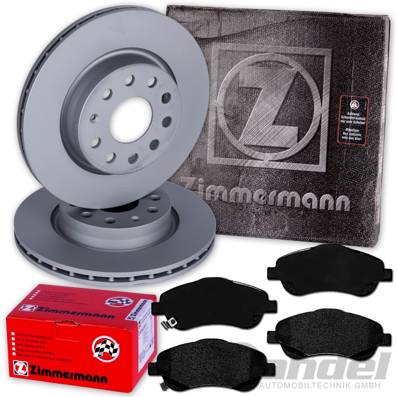 Bremsbeläge vorne Toyota Avensis T25 Zimmermann Bremsscheiben