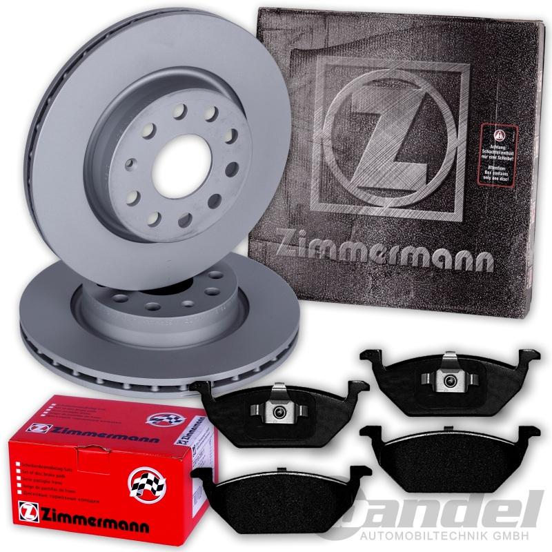 zimmermann bremsscheiben 256mm bel ge vorne vw polo 6r. Black Bedroom Furniture Sets. Home Design Ideas