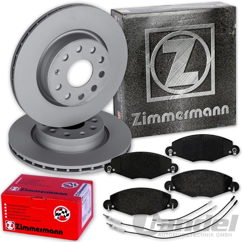 Zimmermann Bremsscheiben Break ab 2008 Beläge hinten Citroen C5