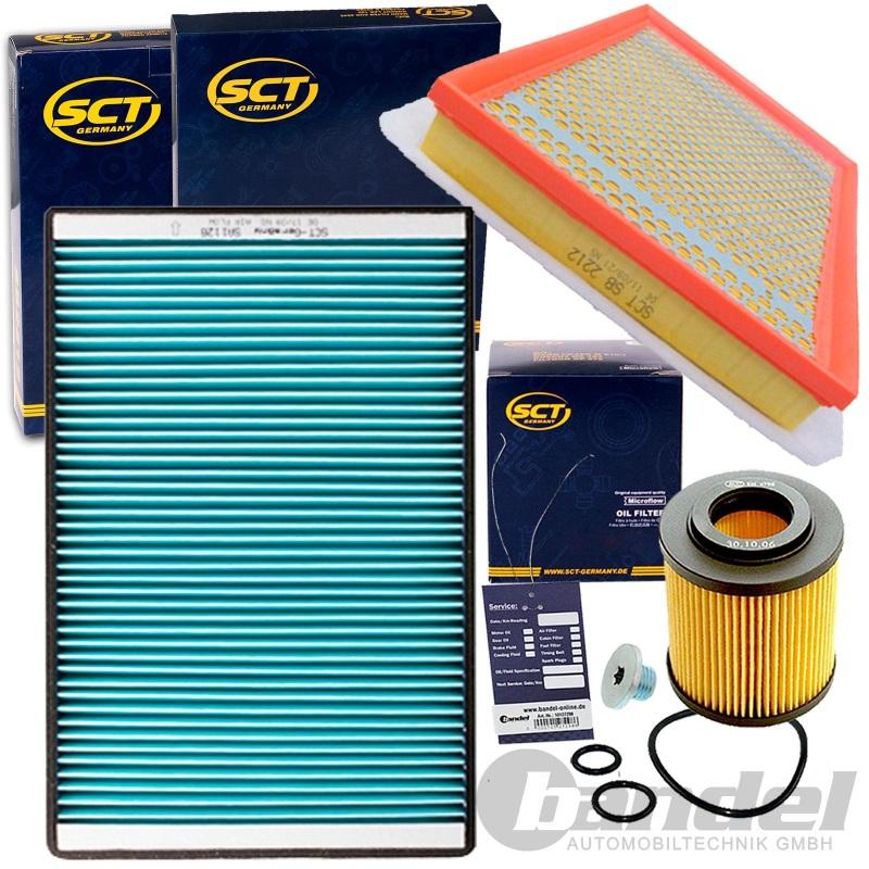 Inspektionskit Filterpaket Filterset Opel Zafira B 1.7CDTI 110 PS 125 PS
