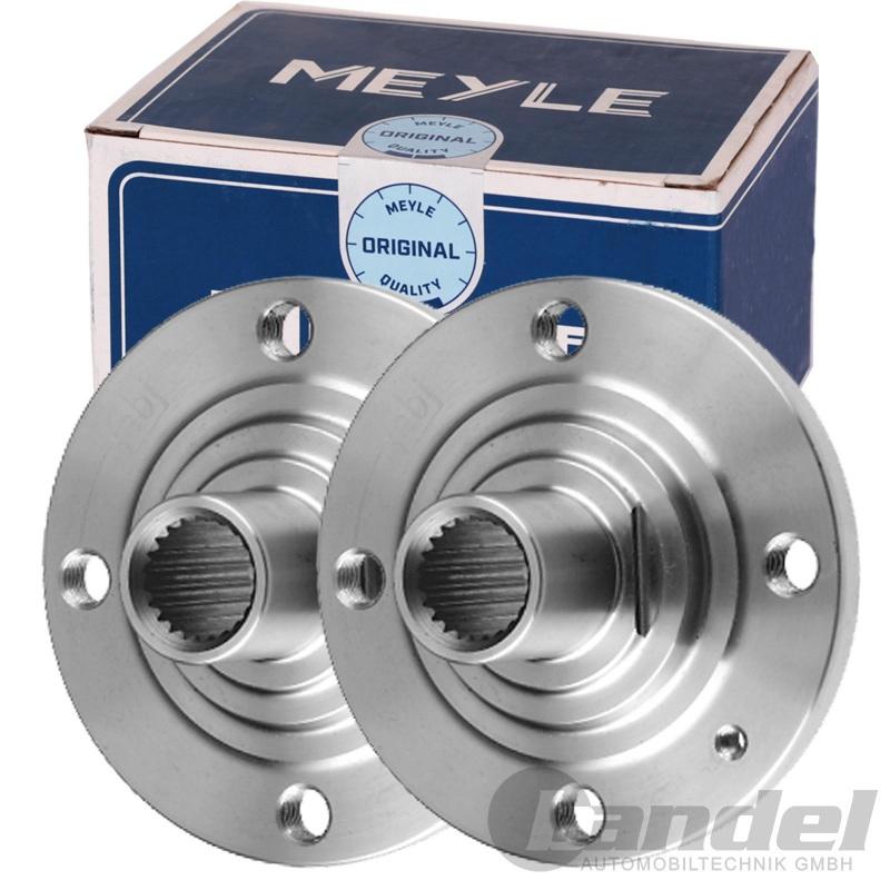 2x Radlager für Radaufhängung Vorderachse MEYLE 100 407 0038