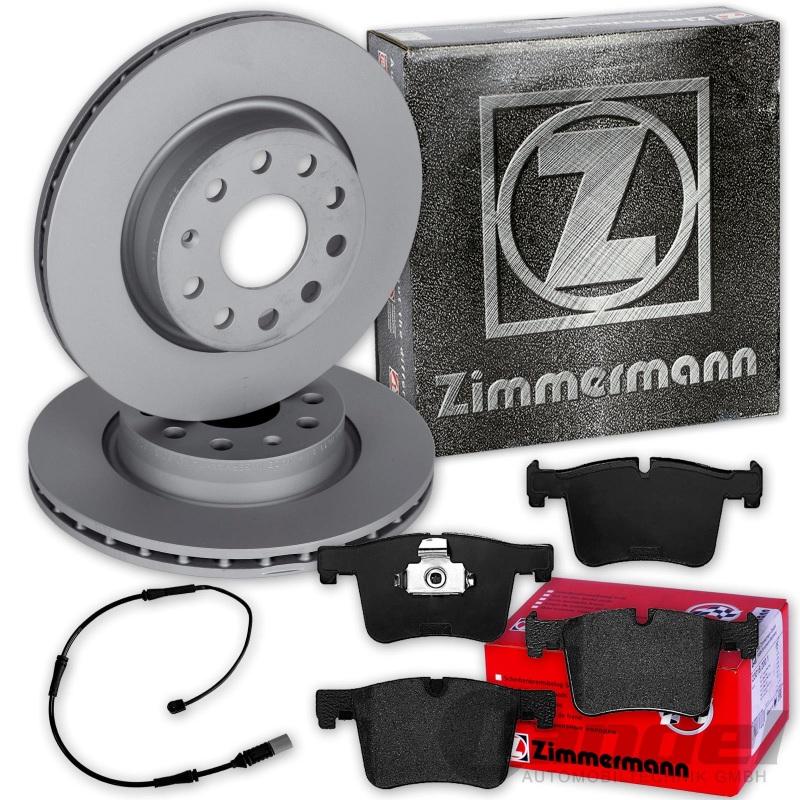 2 Zimmermann Sportbremsscheiben vorne für BMW 1er F20 2er F23 3er E90 4er F32 X1