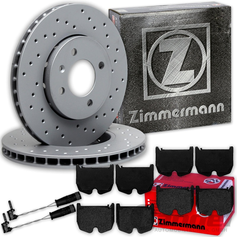 Bremsbeläge vorne Mercedes S-Klasse W220 Zimmermann Bremsscheiben
