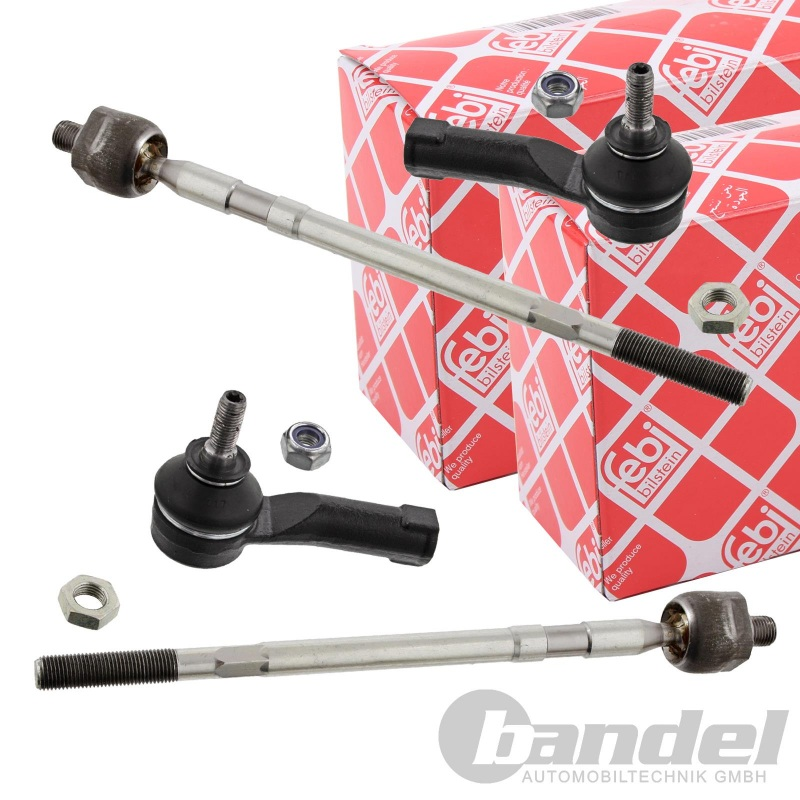 2x FEBI AXIALGELENK SPURSTANGE RENAULT CLIO 3 + CLIO GRANDTOUR + GRAND MODUS