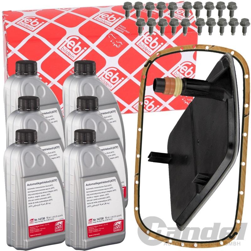 Hydraulikfilter Automatikgetriebe Febi Bilstein 27065