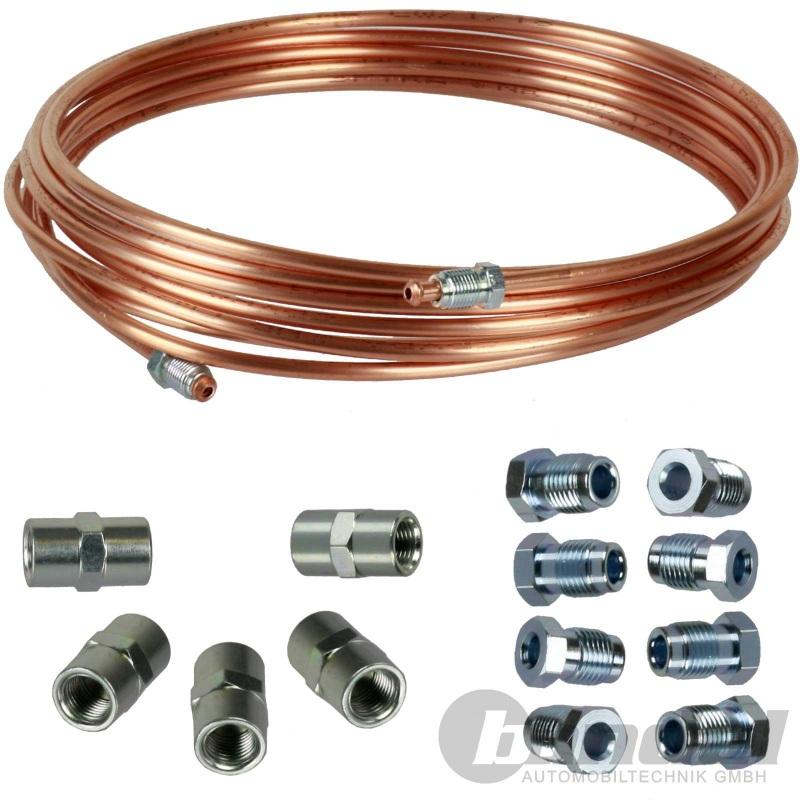 Bremsleitung Bremsrohr 4,75 mm Kupfer TOP PREIS 5m