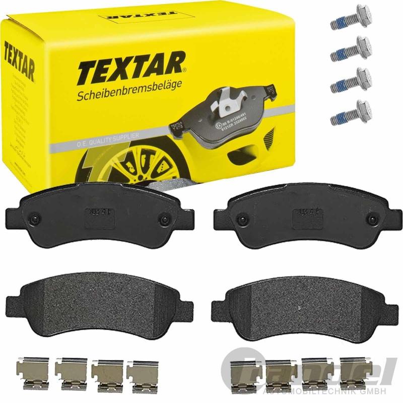 Textar Bremsscheiben Textar Bremsbeläge hinten Citroen Fiat Ducato Peugot