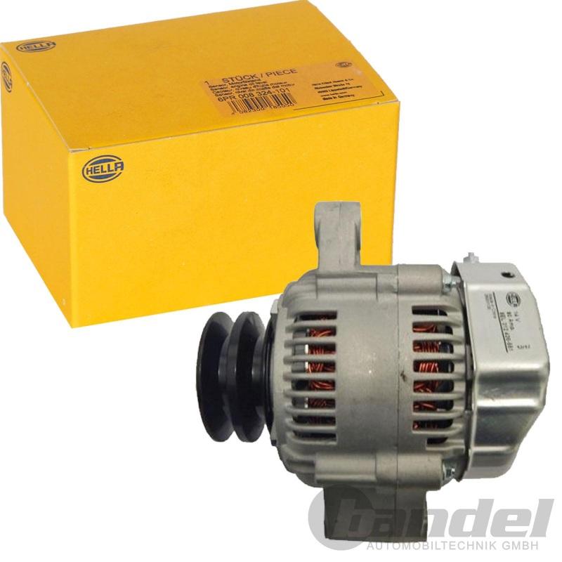 14V 80A HELLA 8EL 012 426-551 Generator
