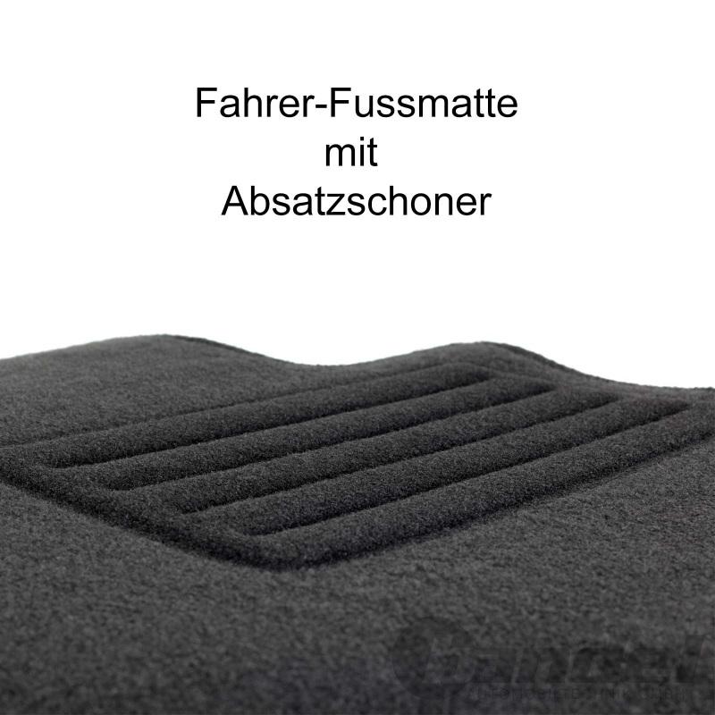 Passform-Velours-Fußmatten für Ford Puma  NEU