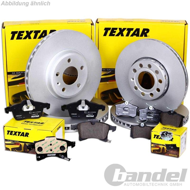 Bremsbeläge vorne Hyundai Terracan 2,5 TD 2,9 CRDi Textar Bremsscheiben