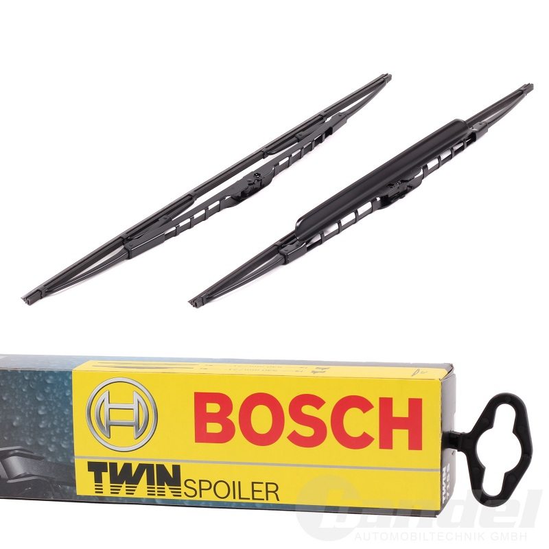BOSCH TWIN SCHEIBENWISCHER SET VORNE 582S 550mm+530mm AUDI A6 A8 TT PORSCHE 911