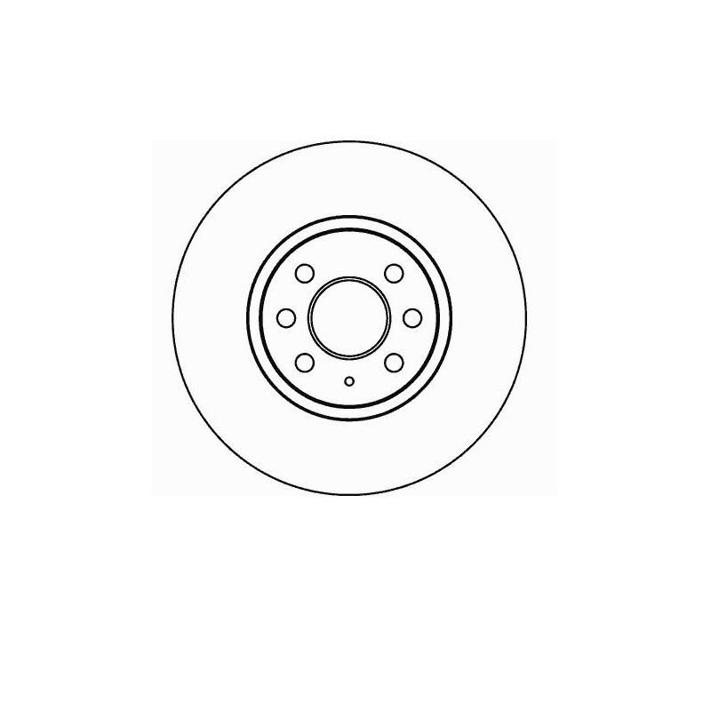 Bremsbeläge vorne 280mm belüftet Opel Meriva Combo 4-Loch Bremsscheiben