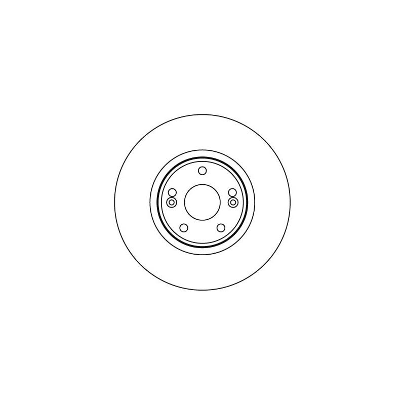 2x MEYLE BREMSSCHEIBEN Ø300mm SET VORNE RENAULT LAGUNA II 1.6 1.8 1.9 16V dCi