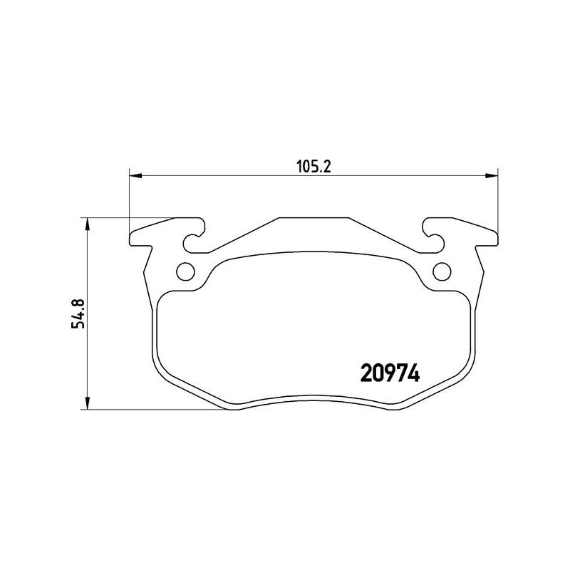 2x Koppelstange Vorderachse 335mm Peugeot 205 I II 309 I II