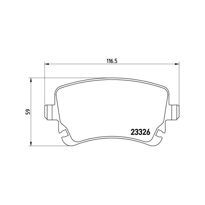 TEXTAR Bremsscheiben 280mm belüftet Hinterachse 92152200 für Audi