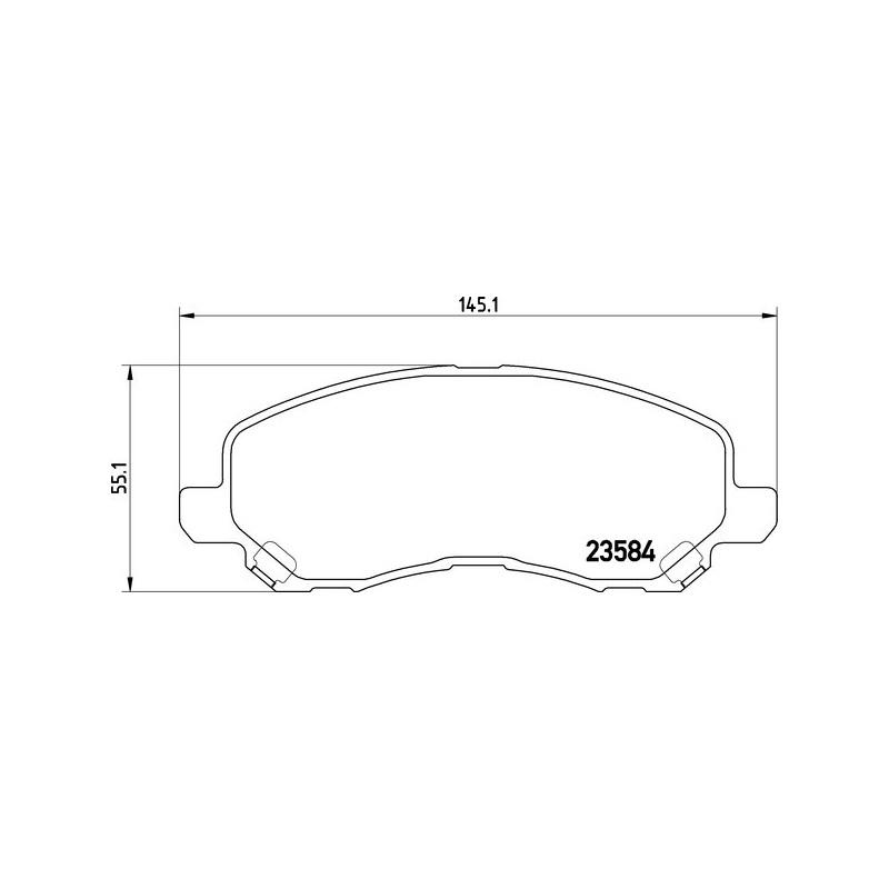 Textar Bremsscheiben 294mm Bremsbeläge vorne Chrysler Dodge Jeep
