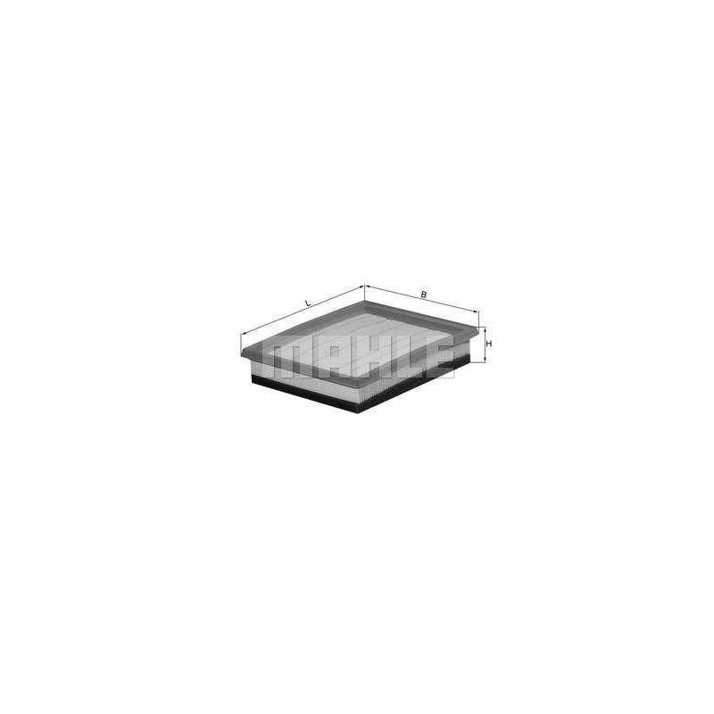 KNECHT Luftfilter LX 1036//2 LX1036//2 MAHLE